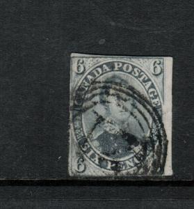 Canada #5d Used Fine Grey Violet Thick Hard Paper Expert Repaired Tear & Thin