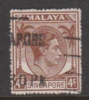 Singapore Sc#4a Used