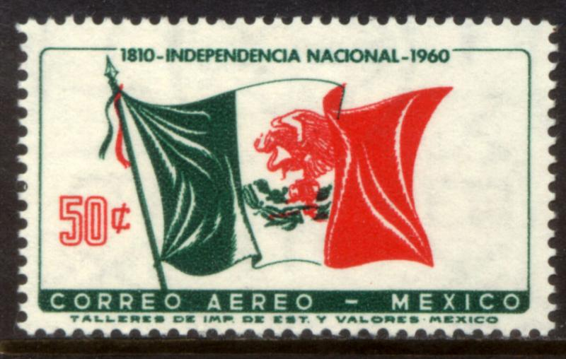 MEXICO C250, 50c Sesquicent Mexican Independence. Mint, NH