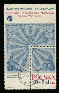 Block, 10+5 Zl, Exposition, 1973, (3469-T)