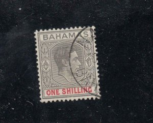 BAHAMAS SG 155c VF-KGV1 1sh FROM THE HILLSON COLLECTION CAT VALUE £85 or $105