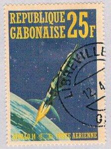 Gabon C108A Used Space 1971 (BP3582)