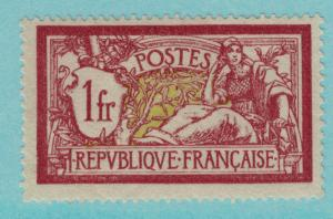 France Scott #125, Unused/Mint No Gum, 1 Franc Issue From 1900, Liberty and P...