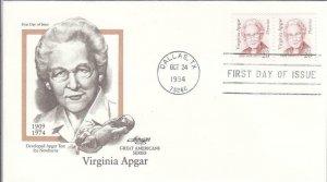 1994, Virginia Apgar, Artmaster, FDC (D14463)