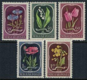 Hungary #974-8*  CV $8.50  Flowers