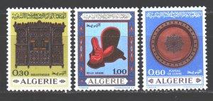 Algeria. 1969. 528-30. Crafts. MNH.
