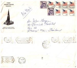 United States, Oregon, Foreign Destinations, Thailand