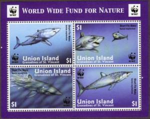 Union Island #254e sharks SS