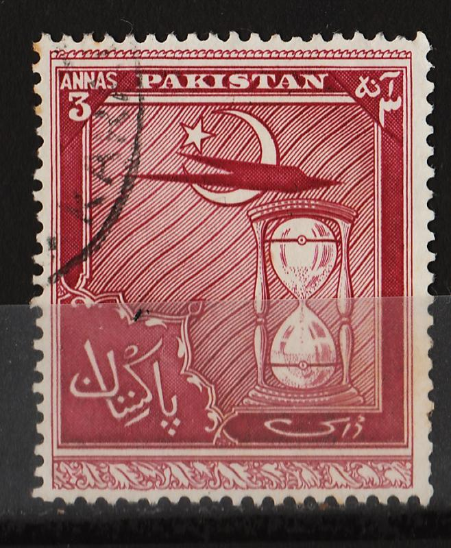 Pakistan 1951 4th Anniv. of Independence 3A (1/9) USED