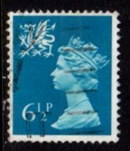 Wales - #WMMH7 Machin Queen Elizabeth II - Used