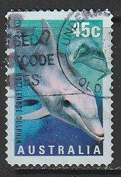 1998 Australia - Sc 1708 - used VF - 1 single - Bottlenose dolphin
