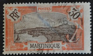 DYNAMITE Stamps: Martinique Scott #77 – USED
