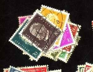 Germany #366-384 Used FVF Couple HRs Cat$36