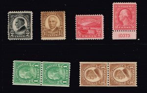 US STAMP 20TH  MH/OG STAMPS COLLECTION LOT #2