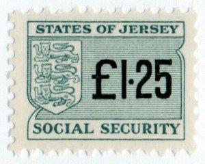 (I.B) Jersey Revenue : Social Security £1.25