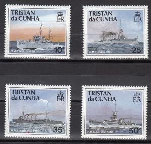 Tristan da Cunha Scott 491-4 Mint NH (Catalog Value $15.75)