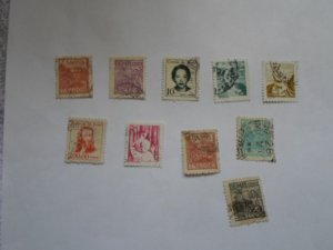 BRAZIL STAMPS. LOT OF 10. MIXED CON. #23