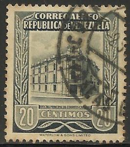 Venezuela Air Mail 1955 Scott# C600 Used