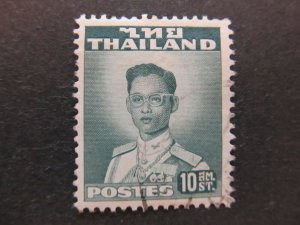 A5P17F62 Thailand Siam 1951-60 10s used