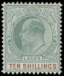 Lagos Scott 49 Gibbons 53 Mint Stamp