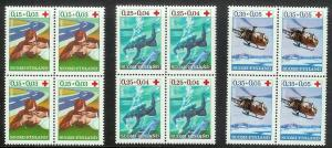 FINLAND Sc#B176-178 Complete MINT NEVER HINGED Block Set