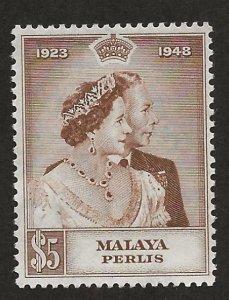 MALAYA - PERLIS  SC# 2  FVF/MNH