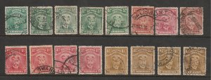 Rhodesia a small lot of used low value KGV