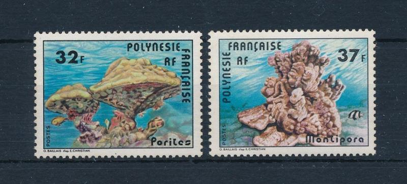 [52027] French Polynesia 1979 Marine life Corals MNH light toned