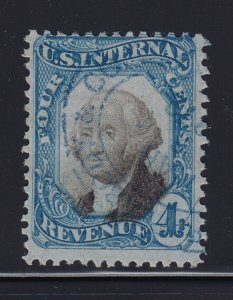 R106 used revenue stamp neat cancel with nice color cv $ 125 ! see pic !