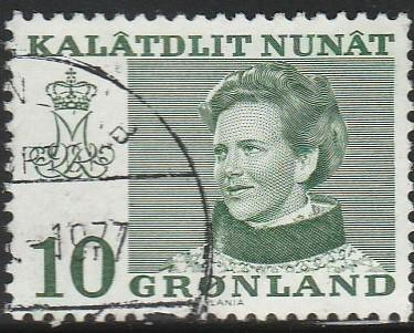 Greenland, #87 Used From 1973-79