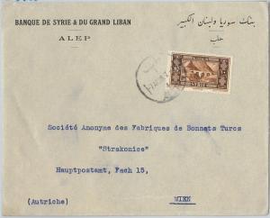 59017  - SYRIA  - POSTAL HISTORY:   COVER to  AUSTRIA  1938