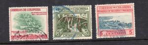 Columbia..3 var...used.issued 1956