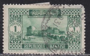 Lebanon 119 Crusader Castle, Sidon Harbor 1930