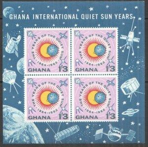 1964 Ghana 172/B9b Sonne Space satellite