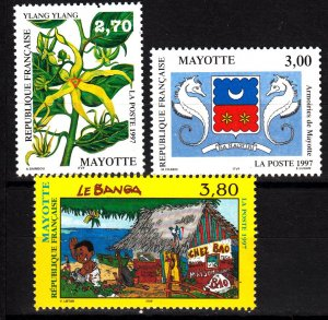 Mayotte 85-7 mnh