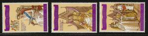 Mauritius  mh SC 433 - 435