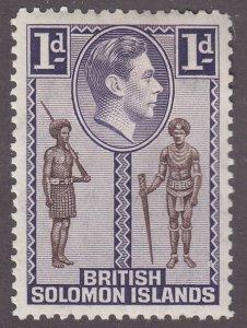British Solomon Islands 68 Policeman and Chief 1939