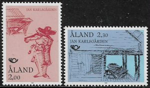 Finland - Aland Is #73-4 MNH Set - Museum Pieces