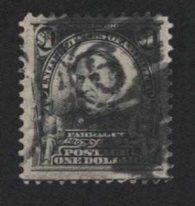 United States USED Scott Number 311  F-VF   - BARNEYS