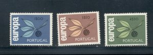Portugal #958-60 VFMNH (1965 Europa set) CV $10.00
