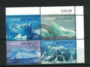 AAT112) Australian Antarctic Territory 2011 Icebergs CTO/Used