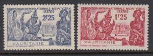 Mauritania 112-3 mint