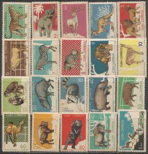 CUBA 888-907 MNH TONING FAUNA S906