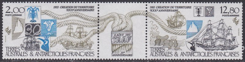 French Southern & Antarctic Territory Sc #C90a MNH Pair