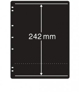 Prinz System Stock Sheets Single Sided 7 Hole Punch - 1 Strip Pocket  (10 pages)