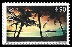 C143 90c Hagatna Bay, Guam, MNH, (PCB-6)