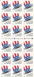 US Stamp - 1998 H Rate Uncle Sam's Hat - 18 Stamp Booklet #3269a