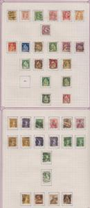 SWITZERLAND 1907-39 COLLECTION ON 15 ALBUM PAGES ORDINARY & SEMI PSTL SCV$1,870+