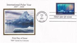 2007, Int'l Polar Year, Colorano Silk, FDC (E11868)