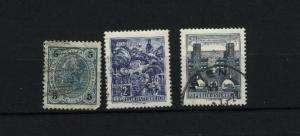 Austria  3 different  used PD